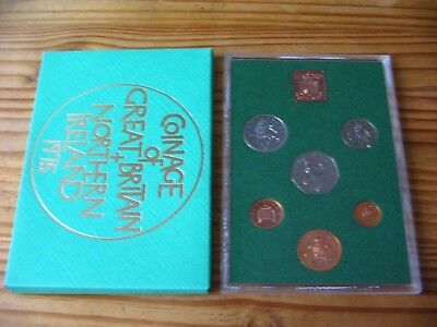 1975 Proof Set Of Decimal Coinage Of Great Britain & Northern Ireland L1