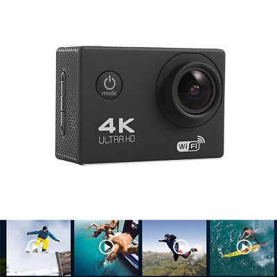 F60C 4K WiFi Sport Action Camera Waterproof Video Camcorder Outdoor Anti-shock