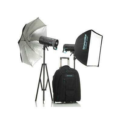 Broncolor Siros 400 L Battery Powered Outdoor 2-Monolight Kit 2 #B-31.750.07