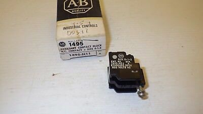 Allen Bradley 1495-N11 Series A Size 0-1-2 Nc Auxiliary Contact Block Nib