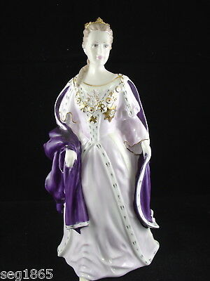 Coalport Limited Edition Queens Of England Figurine - Anne