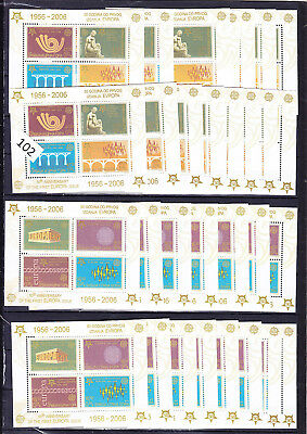 / 15 X Serbia - Mnh - S/s - Art - Europa 2006 - Architecture - Bridge