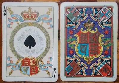 """Antique Playing Cards - Historic Deck for """"Queen Victoria""""s  Diamond Jubilee"""""""