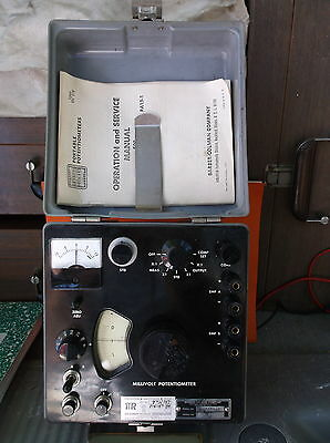 Barber-Colman Model PA10-1 Millivolt Portable Vintage Laboratory Potentiometer