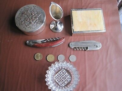 Nice job lot of old vintage antique items