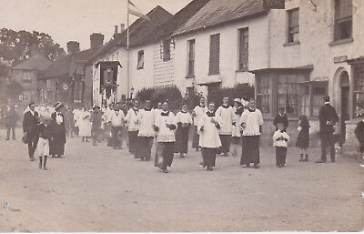 Church Procession SOUTH MIMMS Hertfordshire RP