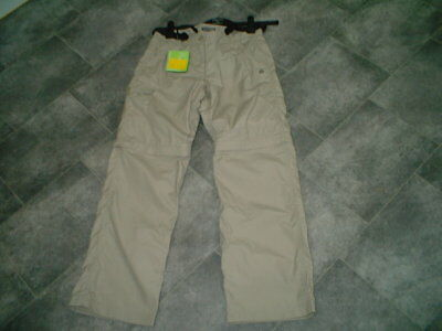 Bnwt Craghoppers Womens Stone Zip Off Trousers Size 10R