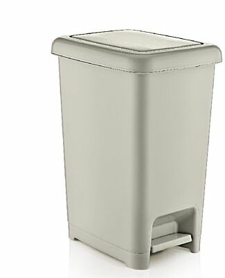 Superior Performance Slim Pedal Step on Trash Can