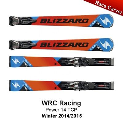 Blizzard WRC Racing Race Carver Ski Bindung Power14 TCP Orange-Blue - 172 cm