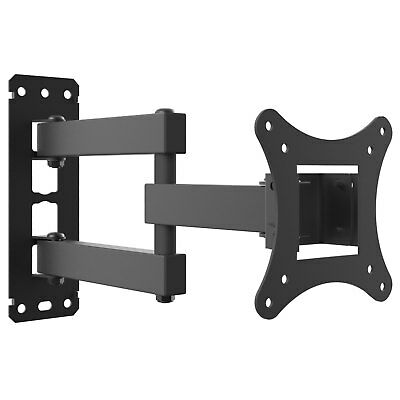 "Yousave Swivel Tilt TV Wall Mount Bracket For LED LCD and Monitor 10"" to 27 Inch"