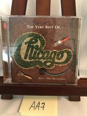 The Very Best of Chicago: Only the Beginning by Chicago CD, Jul-2002, 2 Discs!