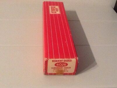 Hornby Dublo 4026 Suburban Coach Original Empty Box