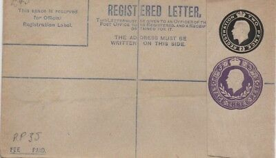 Old Unused Registered Letter Envelope