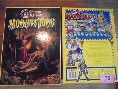 Games Workshop Curse of The Mummys Tomb Board Game VGC Complete lot 75