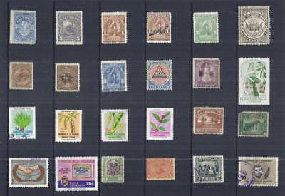 y2746 South America El Salvador / A Small Collection  Early & Modern Lhm & Used