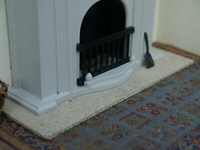 REAL STONE Sandstone 1:12th Scale Miniature / Dolls House Fireplace Hearth