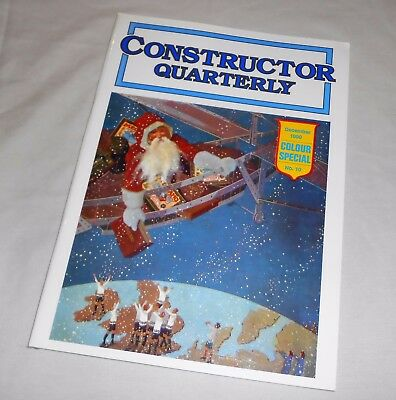 "MECCANO CONSTRUCTOR QUARTERLY Issue No.10 DECEMBER 1990 ""COLOUR SPECIAL"""