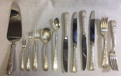 Kirk Stieff Old Maryland Sterling Flatware 18pc Rare Pieces Included