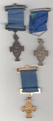 Church of England Temperence Society 3 different medals (06)