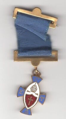 Chruch of England Temperence Society enamelled medal (21)