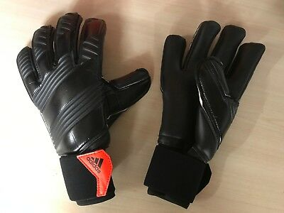adidas Classic Pro Black Latex Palm Goalkeepers Gloves Size 8.5 rrp £80