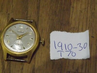 Vintage Gents Oris 15 Jewels  Wristwatch