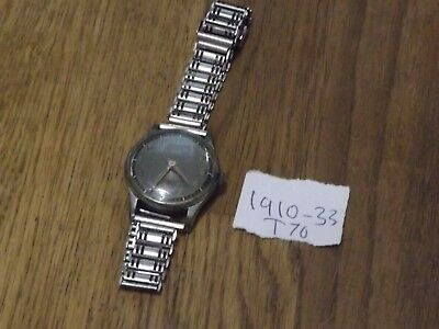 Quality Vintage Oris 7 Jewels  Wristwatch  With Military Style Strap