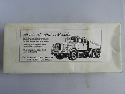 A. Smith Auto Models Scammell Constructor Kit 1:48