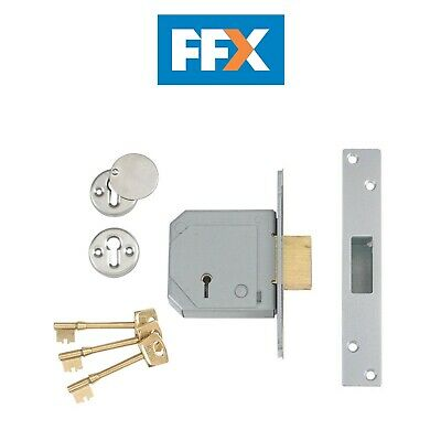 Chubb//Union Levers Set For 3G114 For Mortice Lock Keyed To Differ c//w 2 Keys