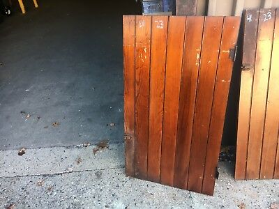 "c1900 antique cabinet pantry door bead board heart pine 41"" high x 23"" wide"