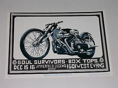 FDD015 The SOUL SURVIVORS Psychedelic Avalon Poster by MOUSE & KELLEY