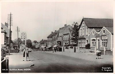 Surrey Hook Surbiton Road Nash's Maythorne Laundry Shops Bus Stop Photo Card