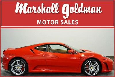 2006 Ferrari 430 Base Coupe 2-Door 2006 Ferrari 430 F1 Rosso Corsa with Beige leather interior 12,500 miles
