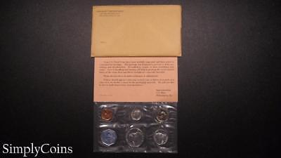 1962 Proof Set ~ Original Envelope With COA ~ US Mint Silver Coin Lot SKU-664
