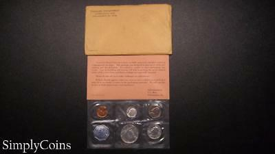 1964 Proof Set ~ Original Envelope With COA ~ US Mint Silver Coin Lot SKU-671