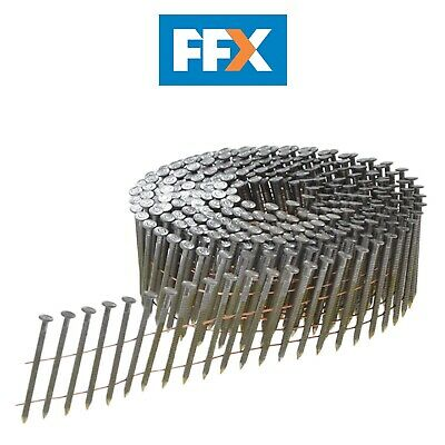 Bostitch F310R90G8Q 3.1 x 90mm Coil Nails Ring Shank Galvanised 4,050pk