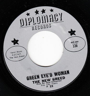 The New Breed *green Eye'd Woman/ I'm In Love* 1965 Us Garage Rock