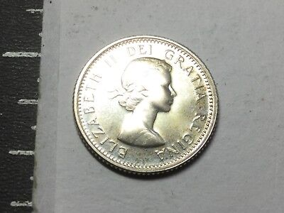 CANADA 1964 10Cent silver coin prooflike