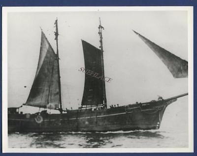 Sailing Ship For Aft Schooner Useful Barrow Arklow Wrecked Isle Of Man Sail