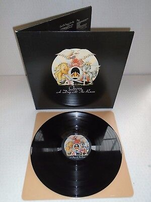 Queen-A Day At The Races...superb 1St Uk Pressing Near Mint Vinyl Lp Record 1976