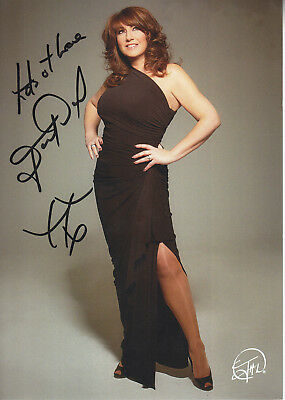 Jane Mcdonald Signed Picture