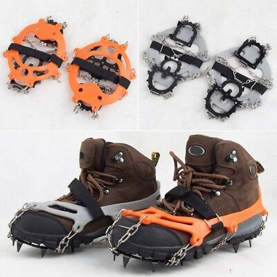 Chic Outdoor Crampons Snowfield Anti-Slip Chain Spikes Ice/Snow Shoes Gripper