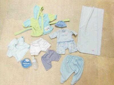 baby born boys clothes bundle and accessories