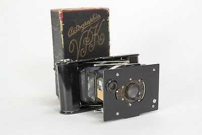 OLD KODAK VEST POCKET AUTOGRAPHIC CAMERA w/ Box - PARTS?