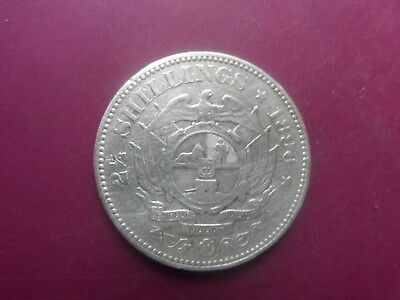 1896  21/2 Shillings Silver Coin Of South Africa. Fine.