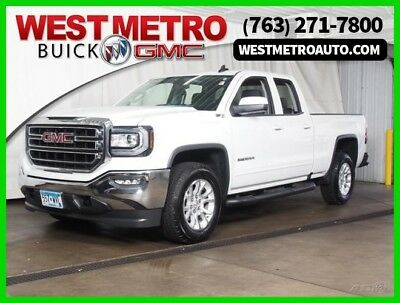 2017 GMC Sierra 1500 4WD Double Cab 143.5 SLE 2017 4WD Double Cab 143.5 SLE Used 4.3L V6 12V Automatic 4WD OnStar