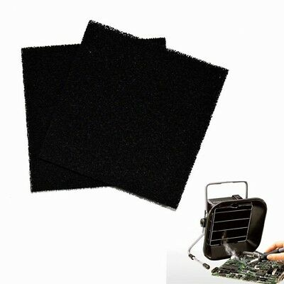 Activated Carbon Filter 13cm x 13cm Solder Smoke Absorber ESD Fume Extractor
