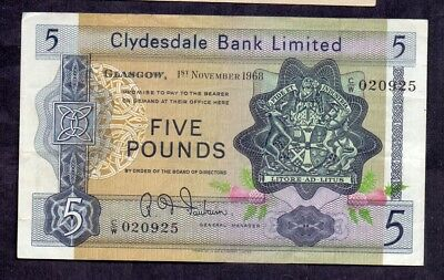 5 Pounds From Scotland 1968 XF