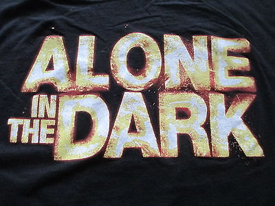 Atari Alone In The Dark Black Yellow T Shirt Size  L Large XL X-Large