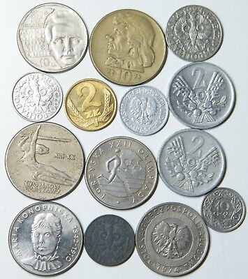 WCA 14 Coins From Poland 1923 - 1980 Lot # 103